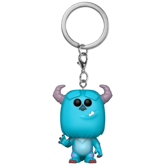 Monster Inc Sulley Pocket Pop! Keychain by Funko
