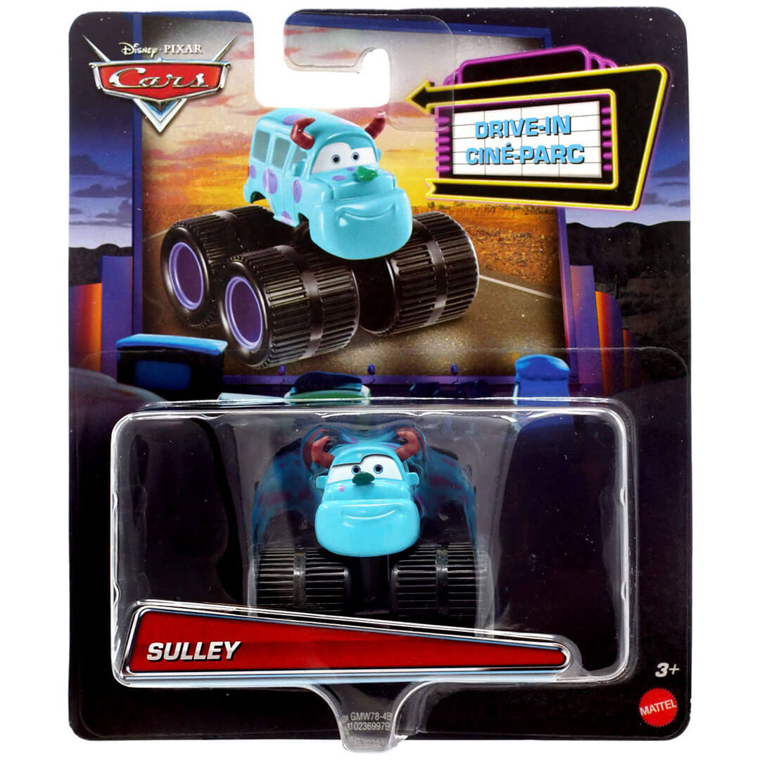 Disney Pixar Character Car - Monster Inc - Sully Die-Cast Car by Mattel -Mattel - India - www.superherotoystore.com