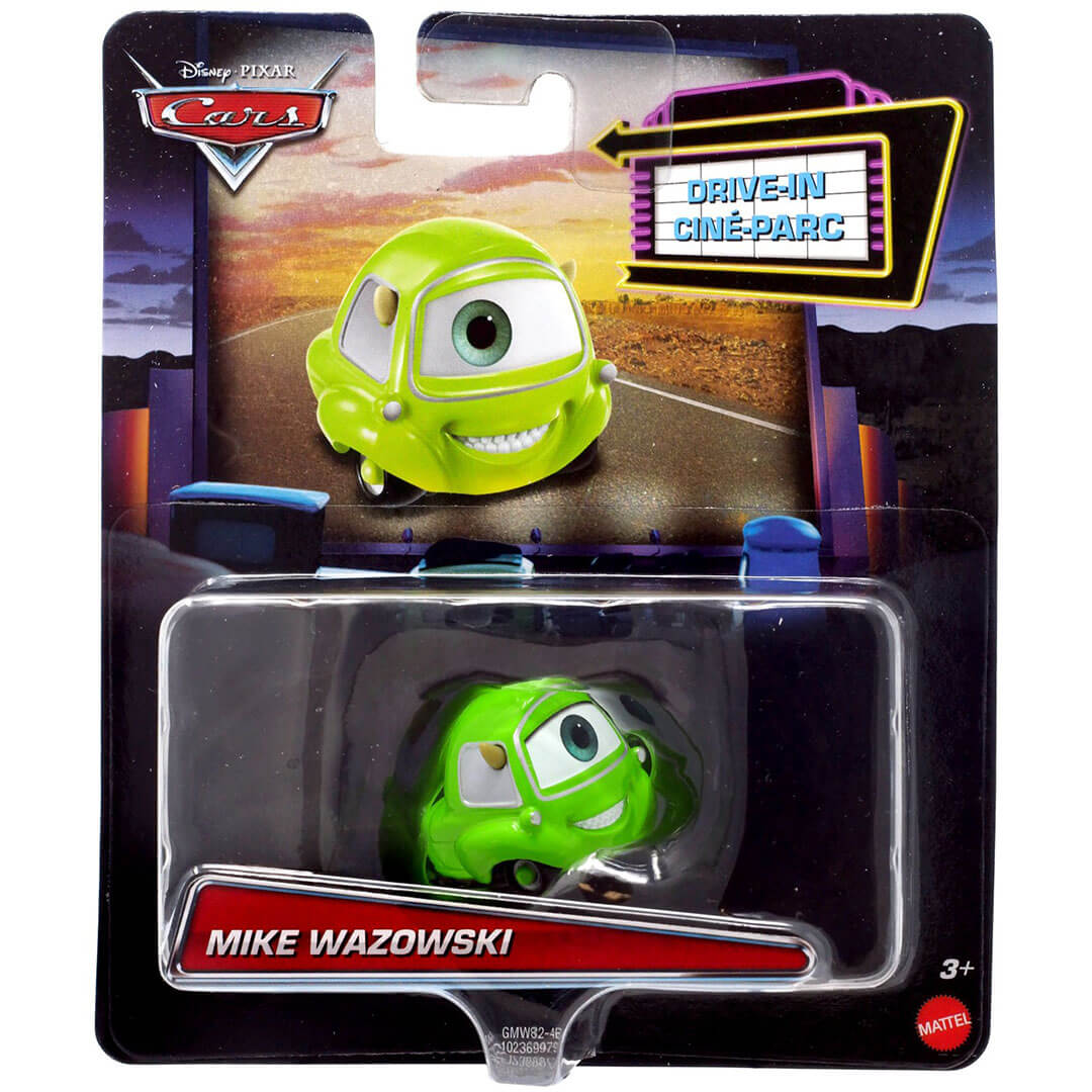 Disney Pixar Character Car - Monster Inc - Mike Wazowski Die-Cast Car by Mattel -Mattel - India - www.superherotoystore.com