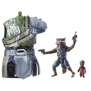 Best of Marvel Legends: Rocket Raccoon & Groot Figure by Hasbro