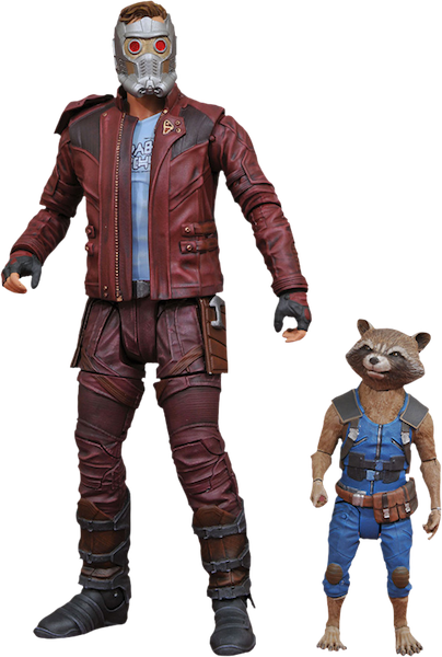 Marvel Select Figures Guardians Of The Galaxy 2 Star-Lord & Rocket 2-Pack by Diamond Select