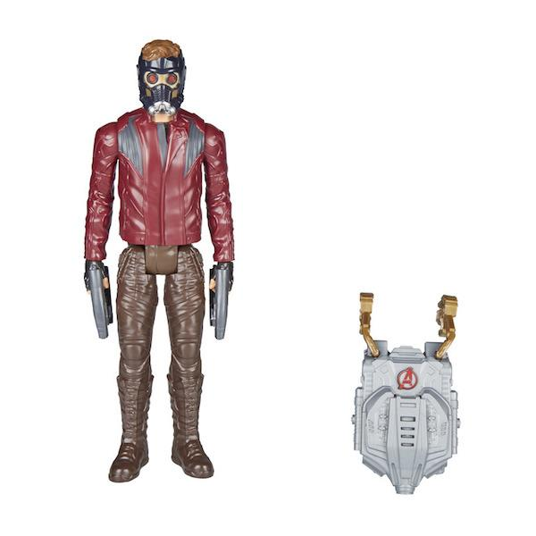 Avengers Infinity War: Titan Hero Series Star Lord Figure with Power FX Pack by Hasbro
