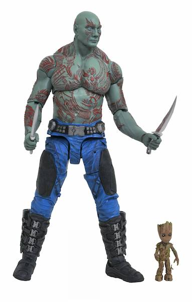 Marvel Select Guardians Of The Galaxy 2 Drax & Baby Groot 2-Pack by Diamond Select
