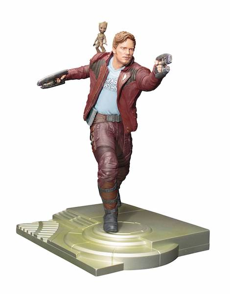 Guardians of The Galaxy Vol 2: Star Lord with Groot ArtFx+ Statue by Kotobukiya