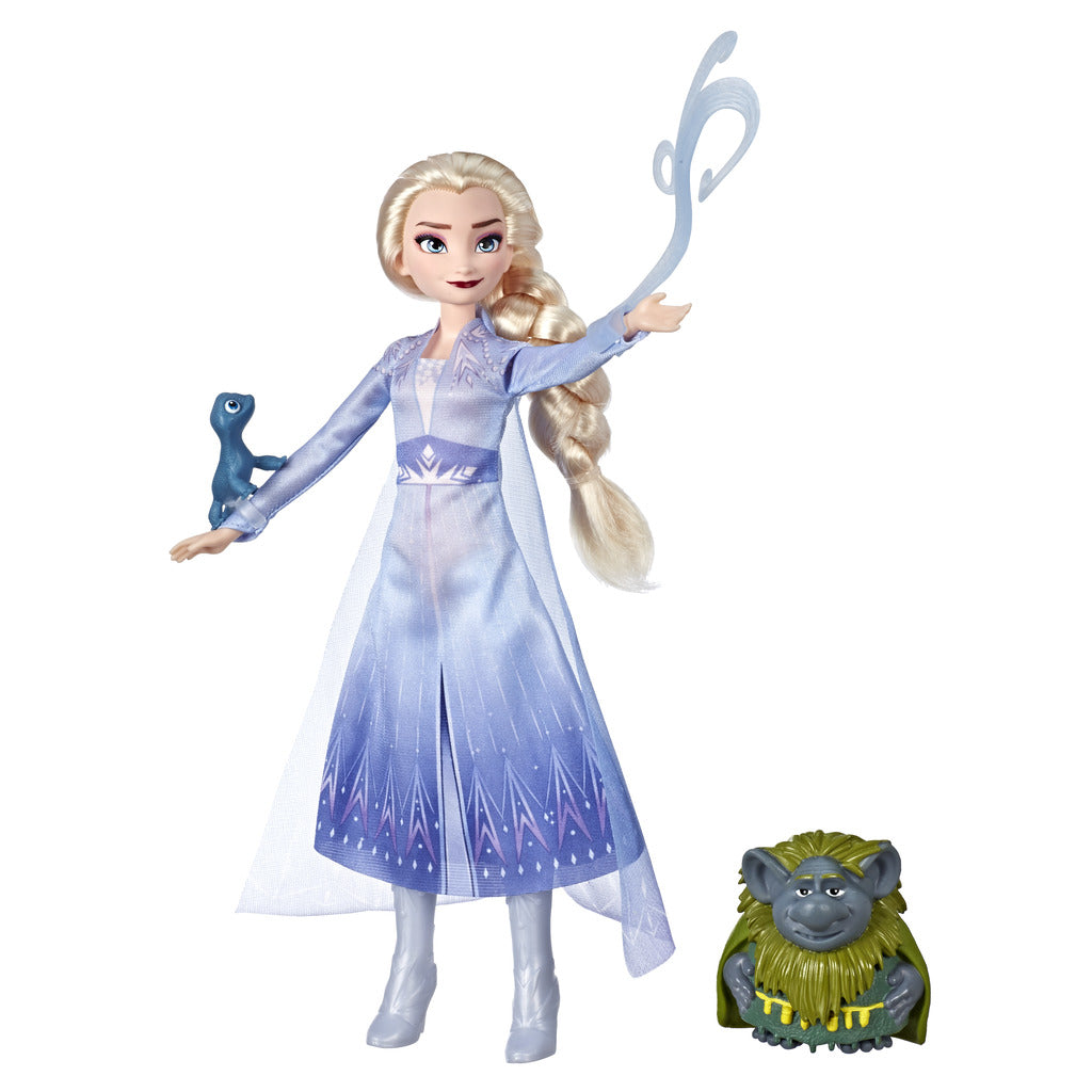 Frozen 2 Elsa, Pebbie & Salamander Figure Set by Hasbro -Hasbro - India - www.superherotoystore.com
