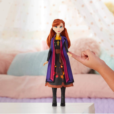Frozen 2 Light-up Anna Figure by Hasbro -Hasbro - India - www.superherotoystore.com