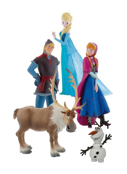 Frozen: Deluxe Set 5 Pack by Bullyland