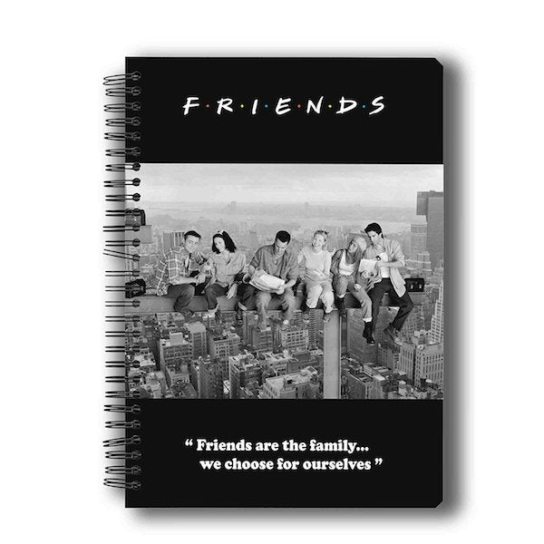 Friends TV Series Family Notebook by MC Sidd Razz -MC Sidd Razz - India - www.superherotoystore.com