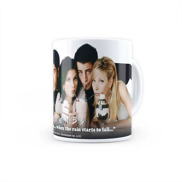 Friends TV Series Straw Mug by MC Sidd Razz