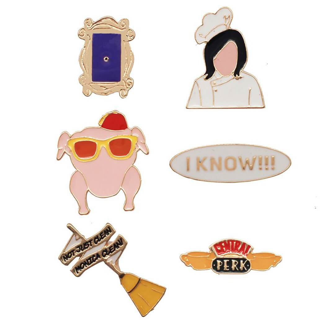 Friends Monica Geller Enamel Pinset by EFG