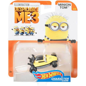 Minions Character Cars Tom Die Cast Car by Hot Wheels