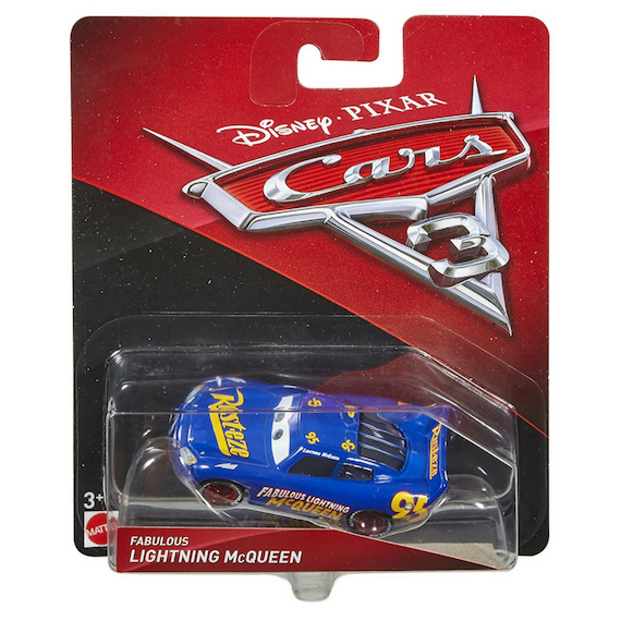 Disney Cars 3: Fabulous Lightning McQueen Die-Cast Car by Mattel