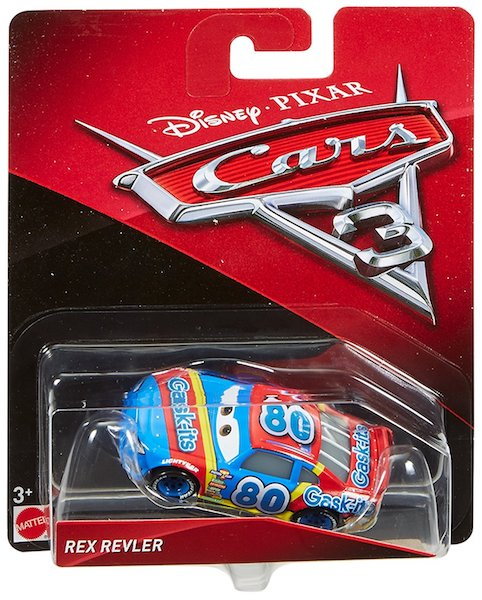 Disney Cars 3: Rex Revler Die Cast Car by Mattel