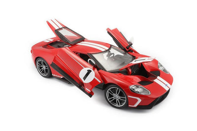 1:18 Scale 2017 Ford GT (Red) Die-Cast Car by Maisto