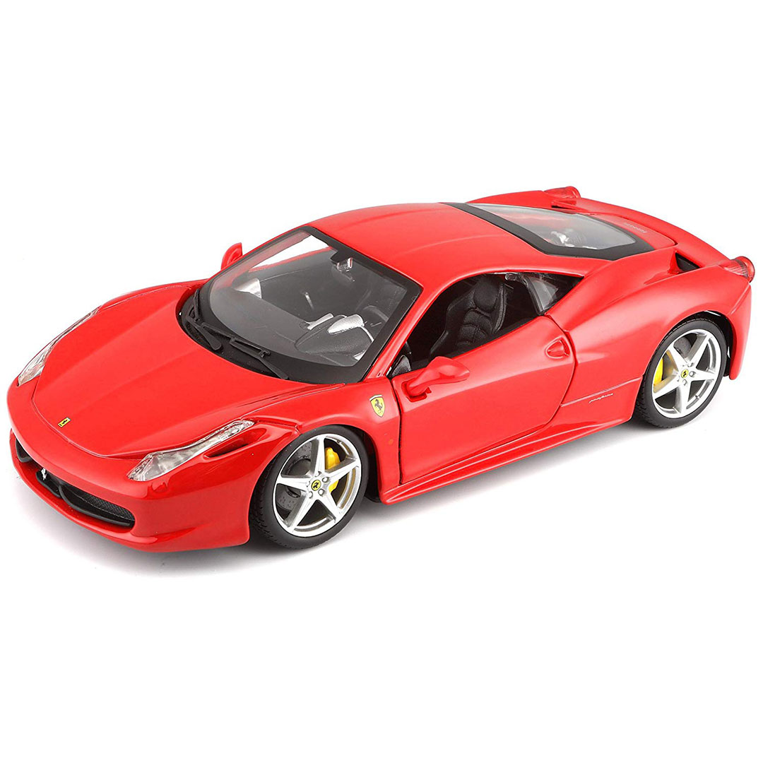 Ferrari 458 Italia 1:24 Scale Die Cast Car by Bburago