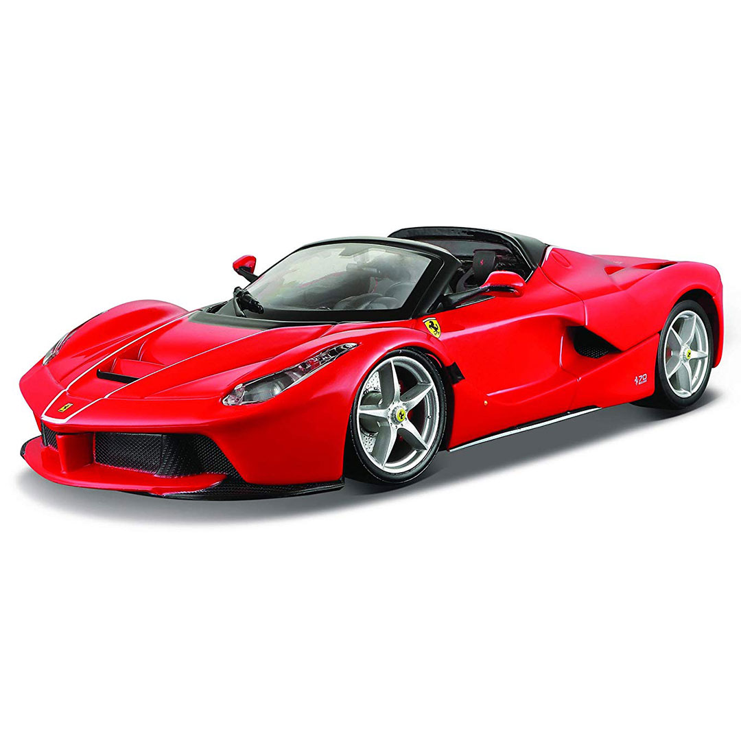 Limited Edition 1:24 Scale La Ferrari Aperta (Red) Die-Cast Car by Bburago