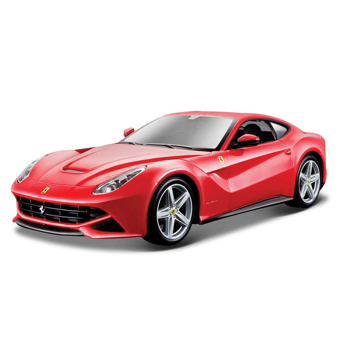 Ferrari Race & Play 1:24 Scale F12 Berlinetta (Red) Die-Cast Car by Bburago -Bburago - India - www.superherotoystore.com