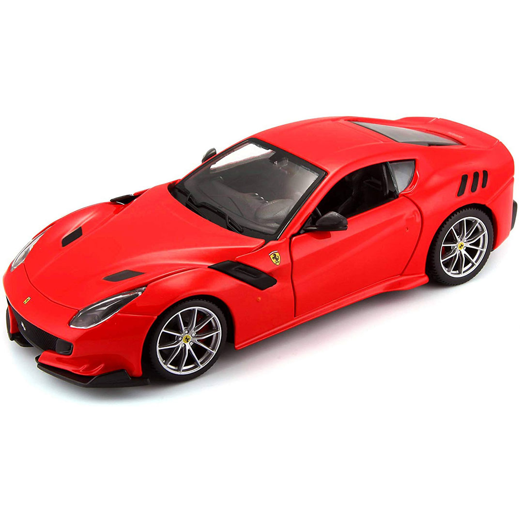 Ferrari Race & Play 1:24 Scale F12tdf (Red) Die-Cast Car by Bburago -Bburago - India - www.superherotoystore.com