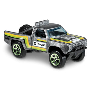 Baja Blazers 1987 Dodge D100 1:64 Scale Die-Cast Car by Hot Wheels (64/250)