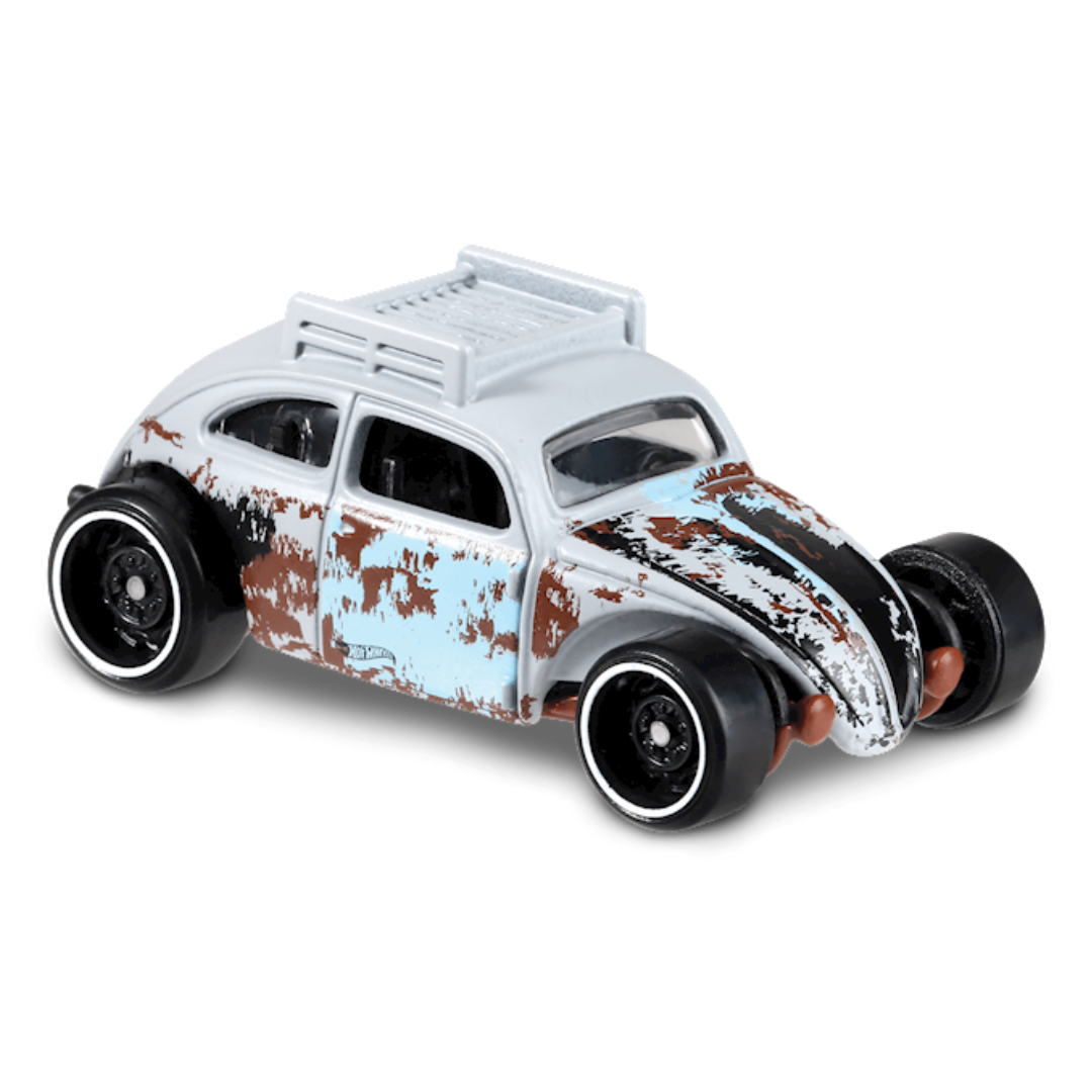 Custom Volkswagen Beetle 1:64 Scale Die-Cast Car by Hot Wheels (69/250) -Hot Wheels - India - www.superherotoystore.com