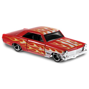 HW Flames 1966 Chevy Nova 1:64 Scale Die-Cast Car by Hot Wheels (143/250)