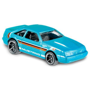 Speed Blur 92 Ford Mustang 1:64 Scale Die-Cast Car by Hot Wheels (152/250)