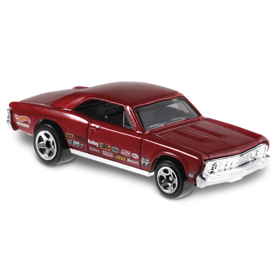 Muscle Mania 1967 Chevelle SS 396 1:64 Scale Die-Cast Car by Hot Wheels (157/250)