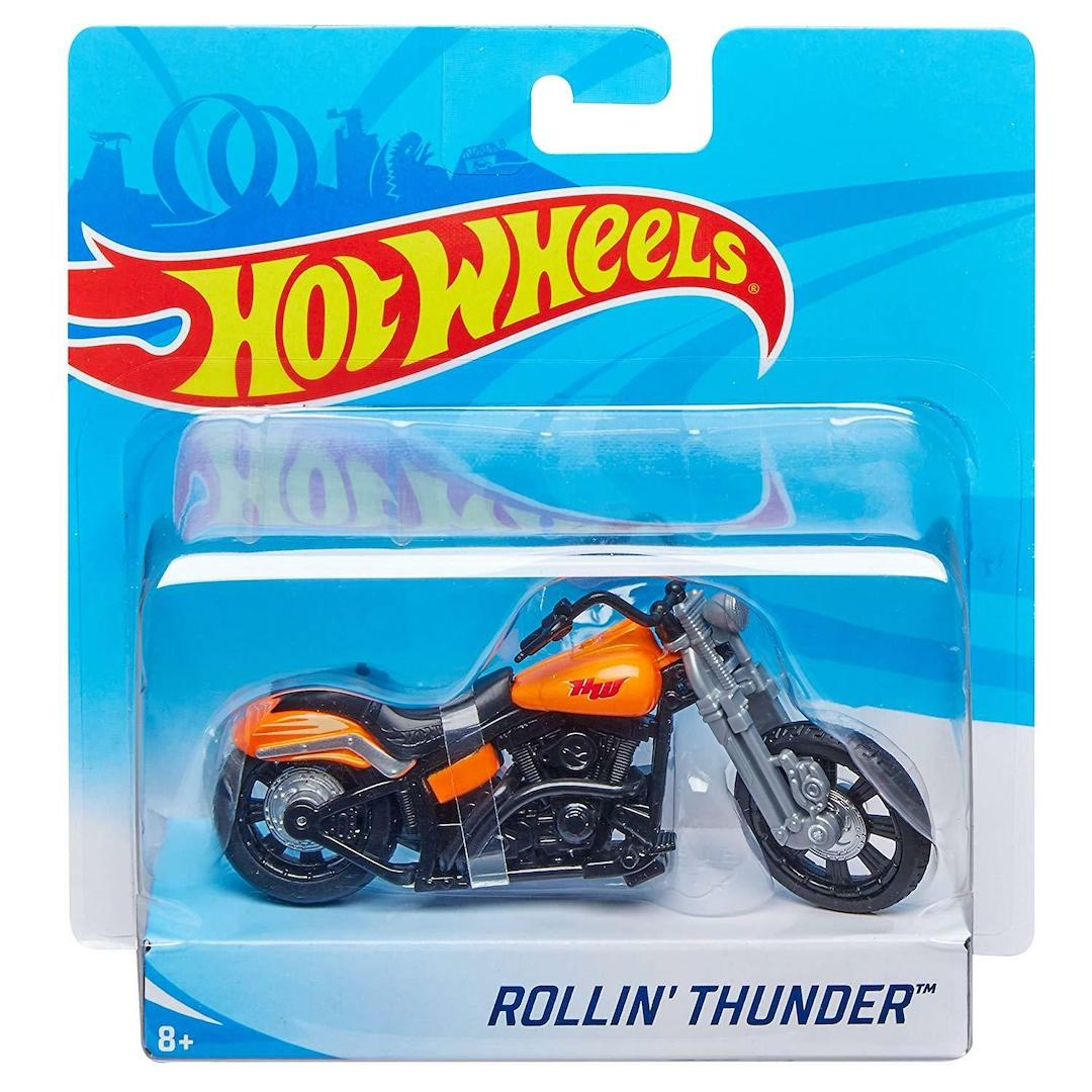 Rollin Thunder Die Cast Bike by Hot Wheels -Hot Wheels - India - www.superherotoystore.com