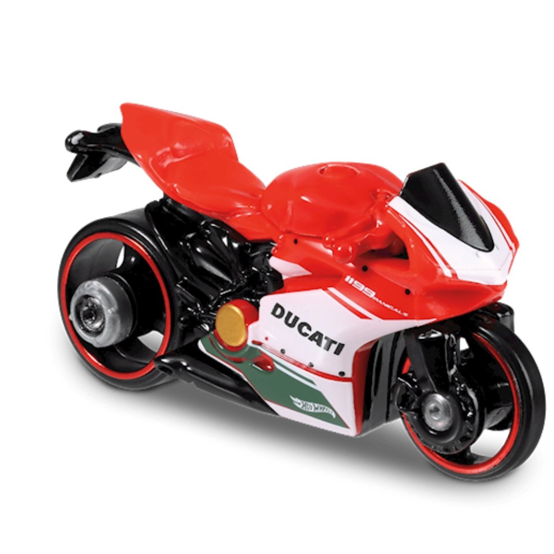HW Moto Ducati 1199 Panigale 1:64 Scale Die-Cast Bike by Hot Wheels (58/250)
