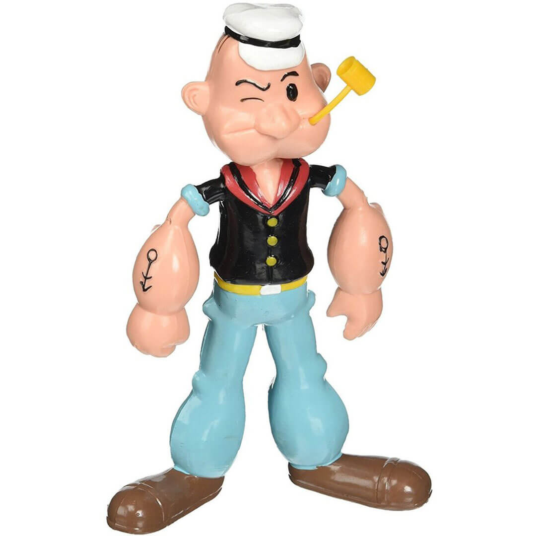 Popeye Bendable Figure by NJ Croce -NJ Croce - India - www.superherotoystore.com