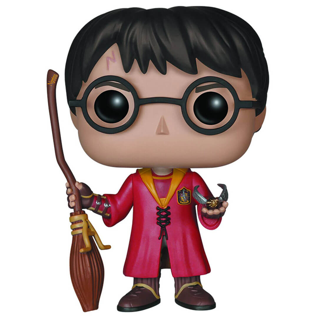 Harry Potter Quidditch Pop! Vinyl Figure by Funko -Funko - India - www.superherotoystore.com