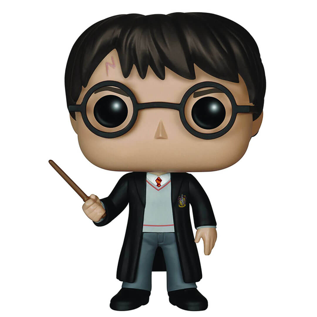 Harry Potter with Wand Pop! Vinyl Figure by Funko -Funko - India - www.superherotoystore.com