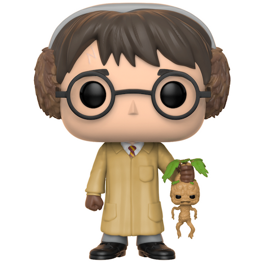 Harry Potter with Mandrake Herbology Pop! Vinyl Figure by Funko