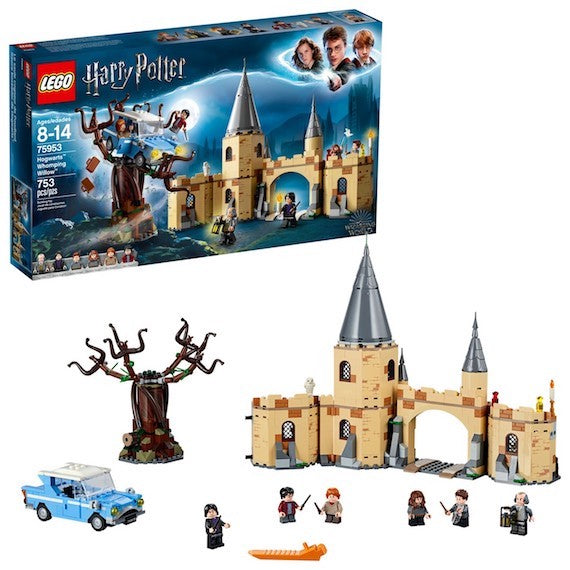 Harry Potter Hogwarts Whomping Willow Set by Lego