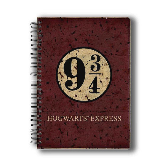 Harry Potter Hogwarts Express Notebook by MC Sidd Razz
