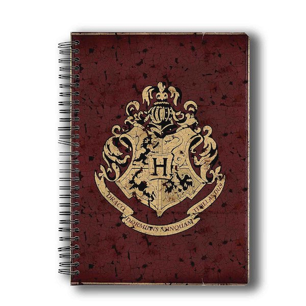 Harry Potter Hogwarts House Crest 1 Notebook by MC Sidd Razz -MC Sidd Razz - India - www.superherotoystore.com