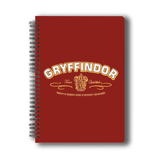 Harry Potter Team Quidditch Notebook by MC Sidd Razz