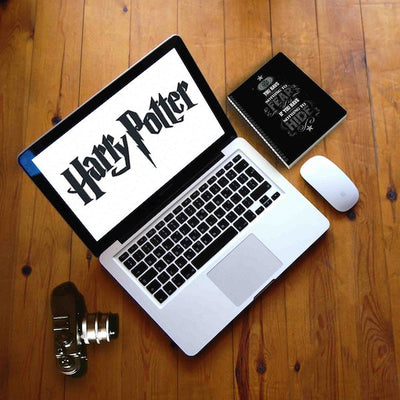 Harry Potter Nothing to Hide Notebook by MC Sidd Razz