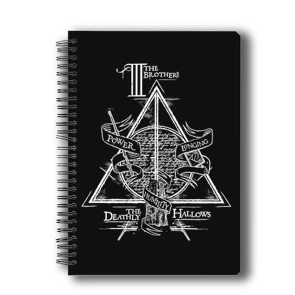 Harry Potter Triangle Notebook by MC Sidd Razz -MC Sidd Razz - India - www.superherotoystore.com