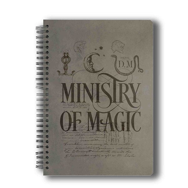 Harry Potter Ministry of Magic Notebook by MC Sidd Razz