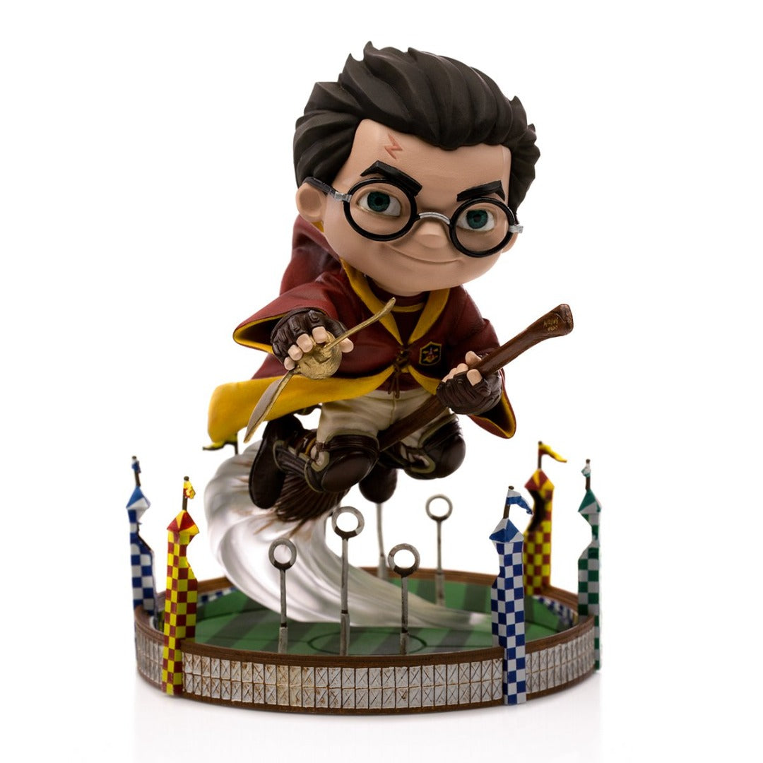 Harry Potter at the Quidditch Match MiniCo Figure by Iron Studios -MiniCo - India - www.superherotoystore.com