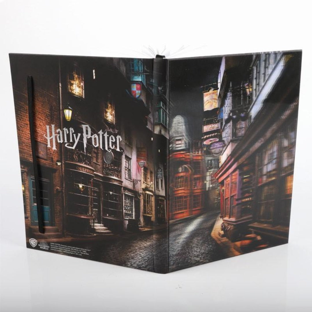 Harry Potter Diagon Alley 3D HD Notebook by WowStuff -Wowstuff - India - www.superherotoystore.com