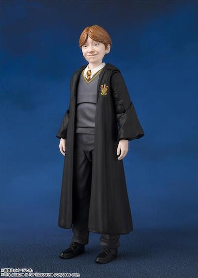 Harry Potter and the Philosopher's Stone Ron Weasley Figure by SH Figuarts -SH Figuarts - India - www.superherotoystore.com