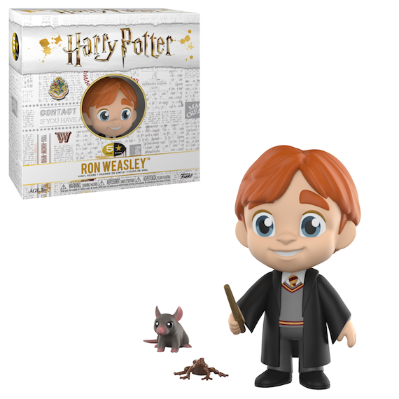 Harry Potter Ron Weasley 5 Star Figure by Funko