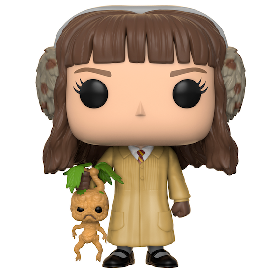 Harry Potter Hermione Granger with Mandrake Herbology Pop! Vinyl Figure by Funko