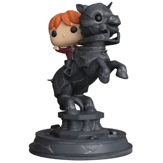 Harry Potter Ron Riding Chess Piece Movie Moments Pop! Vinyl Figure by Funko