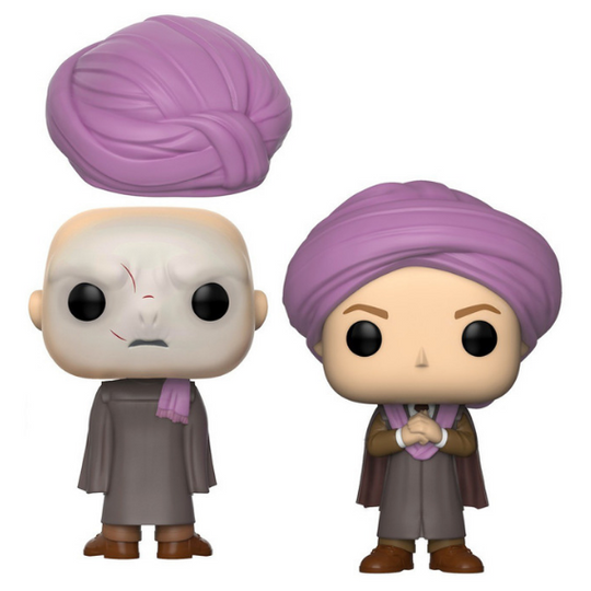 NYCC Exclusive Harry Potter Professor Quirrell Pop! Vinyl Figure by Funko