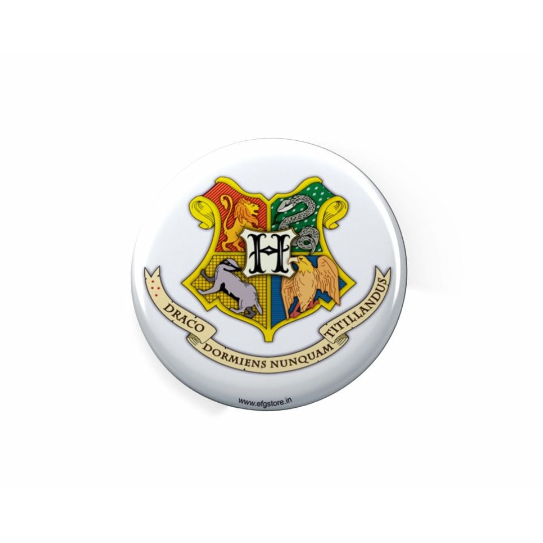 Harry Potter Hogwarts Crest Badge -EFG - India - www.superherotoystore.com