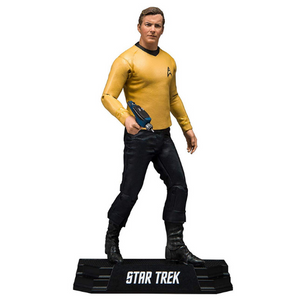 Captain James T Kirk 7 inch Action Figure by Mcfarlane toys