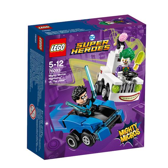 DC Superheros: Mighty Micros: Joker Vs Nighwing by Lego -Lego - India - www.superherotoystore.com